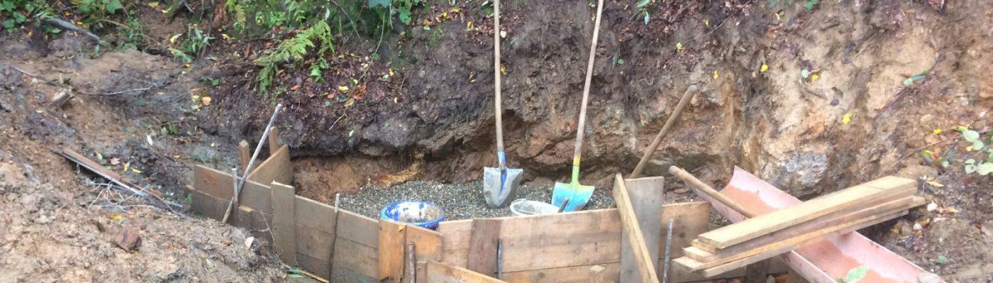 Aufbau der Trinkwasserversorgung